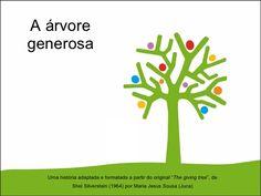 """A árvore generosa Uma história adaptada e formatada a partir do original """" The…"""