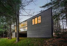 Modern Cottage Rising on Old Heirloom Cottage Grounds - http://freshome.com/2015/01/15/modern-cottage-rising-on-old-heirloom-cottage-grounds/
