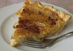 Hoosier Sugar Cream Pie recipe - the official state pie of Indiana