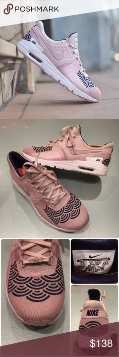 🐣New🐣 NIKE Air Max Zero LOTC QS ~ size 6.5 brand new no lid size 6.5 champagne/mid navy comes from smoke free home  100% authentic A1700080 Nike Shoes Athletic Shoes
