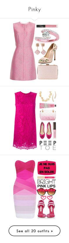 """""""Pinky"""" by thu-linh ❤ liked on Polyvore featuring Balenciaga, Giambattista Valli, Allurez, Michael Kors, NARS Cosmetics, Monsoon, Pink, pinksets, pinkoutfit and pinkset"""