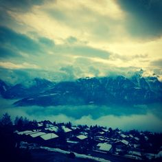 Beautiful swiss place @Ovronnaz, Switzerland Places In Switzerland, Beautiful Places, Mountains, Travel, Viajes, Destinations, Traveling, Trips, Bergen