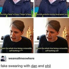 what is going on with Dan did I see this video this isn't an edit right I'm so confused