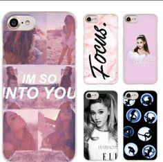 Ariana Grande merch Ariana Cover for iPhone /& Samsung Kawaii Cover Ariana Case Ariana Grande Phone Case Ari case