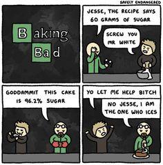 "This cartoon strip. | 37 Jokes Only ""Breaking Bad"" Fans Will Understand"