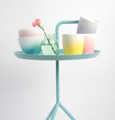 Pastel colors work beautifuly in a side table red design modern living room Home Design, Red Design, Soft Colors, Pastel Colors, Pastels, Pastel Shades, Deco Pastel, Home Furniture, Furniture Design