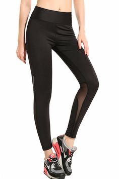 Name Black Gauze Splicing Female Nine Points Yoga Pants Material Polyester+Spandex Detail Look stylish while doing yoga by fashion yoga pants of Dear-Lover brand. Our yoga pants and this Black Gauze Splicing Female Nine Points Yoga Pants are stretchable and made of a fabric which allows the body to breathe. What\'s more, our yoga pants ...