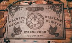 Ouija, Runes, Plywood, Board Games, Steampunk, Boards, Spirit, Wood Stain, Dream Catchers