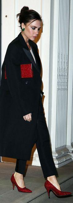 Victoria Beckham wearing Beckham