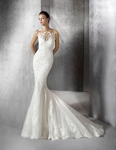 ZULAICA - Brautkleid im Meerjungfrau-Stil mit herzförmigem Dekolleté | St. Patrick