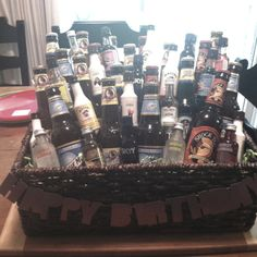 21st birthday present 21 beers and 21 shots!