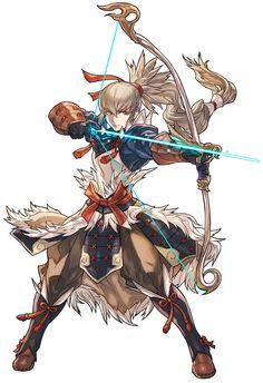 Takumi Battle Pose from Fire Emblem: Heroes