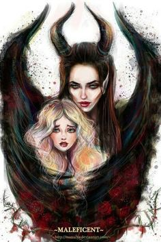 20 awesome pieces of maleficent fan art disney villains malé Aurora Disney, Disney Maleficent, Disney Villains, Maleficent Drawing, Malificent Tattoo, Disney Dream, Disney Love, Disney Magic, Disney And Dreamworks