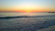 Keep calm and watch the sunset. Sunset&ocean, Costa de Caparica, Portugal