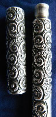 1880s Waterman 402 Eyedropper sterling pen.
