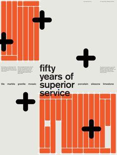 Wim Crouwel — Tile Poster Ads by Matthew Lew, via Behance