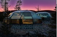 EstiloDF » Disfruta la belleza del cielo desde un iglú de cristal