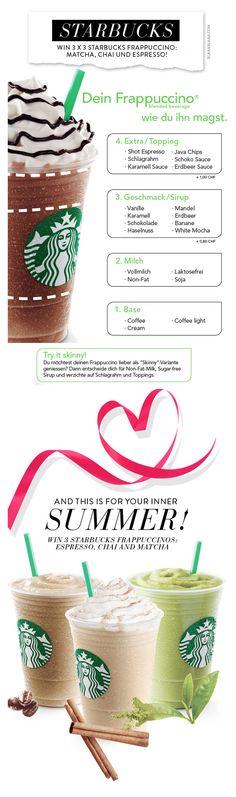 Win Starbucks Frappuccino