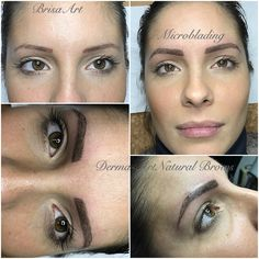 Derma-Art Natural Brows#eyebrowtattoo•BrisaArt•