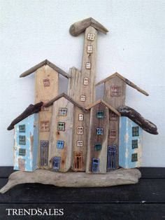 Made from drift Wood from the Beach..  recikled