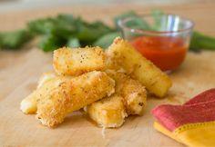 #receta Palitos de Queso Crujientes #fingers #cheese