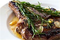 Rosemary Garlic Steak. 3 of my favorite things to eat. -- @steamykitchen