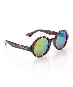 dark tortoise retro sunglasses | zulily
