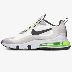 NIKE AIR MAX 270 REACT CI3866-100 | Grau | 109,99 € | Sneaker | ✪ Sizeer.de ✪ Air Max Sneakers, Sneakers Nike, Nike Air Max, Air Max 270, The 100, Shoes, Fashion, See Through, Online Shopping