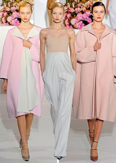 Jil Sander Fall 2012 - i know i'm suppose to be excited for Jil's return...but Raf is seriously too amazing.