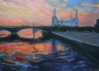I have just published Battersea Power Station on Artfinder www.katharinerowe.com