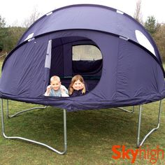 10 Ft Tr&oline Tent with 8 Poles - Circular Circus Style u0026 Fits Over Existing Tr&oline Enclosure | Garden | Pinterest | Tr&oline tent Tr&olines and ... & 10 Ft Trampoline Tent with 8 Poles - Circular Circus Style u0026 Fits ...