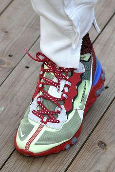 buy popular 2feab 89e84 UNDERCOVER Reveals Its Nike Epic React Collaboration ハイカットスニーカー, ヒップホップ,  ドープファッション,