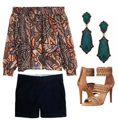 """JUNE NEWSLETTER  """"THE COLD SHOULDER""""  OUTFIT #1"""