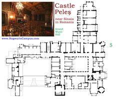 Peles castle floor plan 3rd floor architectural floor plans peles castle floor plan 5th floor malvernweather Choice Image