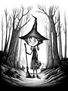 'Poppy' by Seb Mesnard at Little White Bat. Fete Halloween, Halloween Illustration, Tim Burton, Photographie D' Halloween, Illustrations, Illustration Art, The Way Of Kings, Ange Demon, Costumes