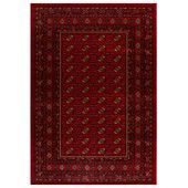 "MANUFACTURER'S CLOSEOUT! Kenneth Mink Area Rug, Warwick Boukara Crimson 7'10"" x 10'10""  Lay down a layer of Russian-inspired interest with the Boukara area rug. Colors of rich crimson, gold, black and more are woven in dense, heavy-weight heat-set polypropylene for a surprisingly lush, high-fashion addition to any room. Made in the USA."
