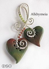 Unica Entità, a polymer clay and wire work creation