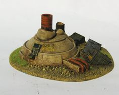 Mini-nuclear generator - Fallout - Future Wars - 28mm