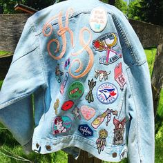 See this Instagram photo by @treesawicks • 43 likes denim jacket with patches
