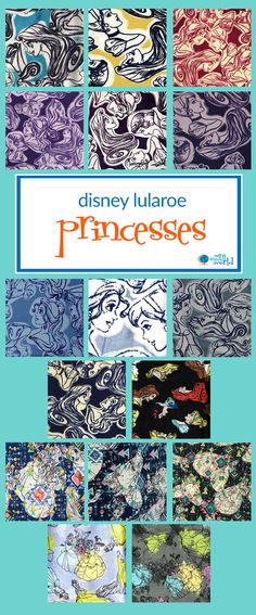 a89ef34fa8c855 new lularoe disney princess prints & their sidekicks