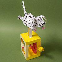 Running Dog automata by Rob Ives
