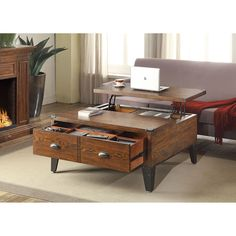 Wellington Lift-Top Coffee Table - Sam's Club  	      $ 299 88