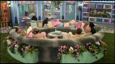 Love that round sofa #BBUK #BigBrother
