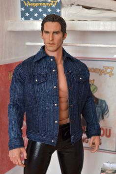 1:6th scale denim jacket for #HotToys #TTM19 #FashionRoyalty #Ken and other…