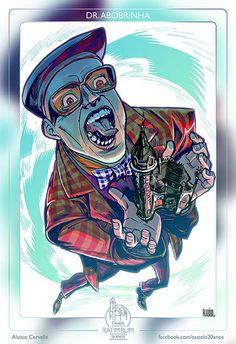 O Dr. Abobrinha era o vilão do programa. Vivido por Pascoal da Conceição, o personagem sonhava em um dia ser o dono do castelo para derrubá-lo...