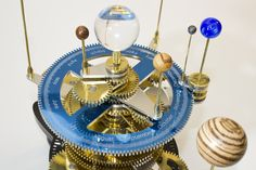 Orrery Calendar Gear -  includes instructions and gearing specs!