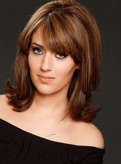 New Shoulder Length Hairstyle . Inspirational New Shoulder Length Hairstyle . top 27 Shoulder Length Hairstyles to Try In 2017 Short Hairstyles For Thick Hair, Layered Bob Hairstyles, Wig Hairstyles, Short Hair Cuts, Latest Hairstyles, Fashion Hairstyles, Hairstyle Images, Fashion Wigs, Updo Hairstyle