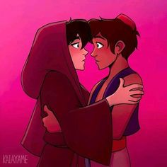 Aladdin (AU Higuel)