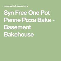Syn Free One Pot Penne Pizza Bake - Basement Bakehouse