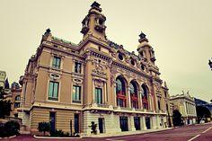 Opera theatre. Monaco